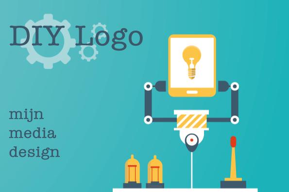DIY logo stappenplan van mijn media design