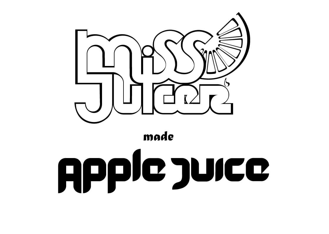 Miss juicer made apple juice