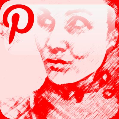 pinterest portret button