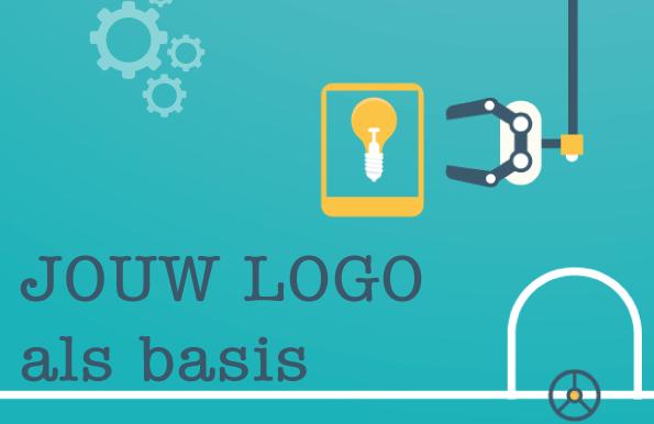jouw logo als basis